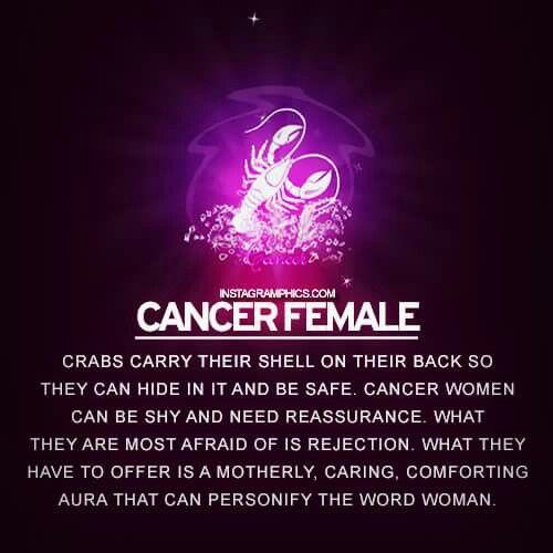 cancer woman feminine