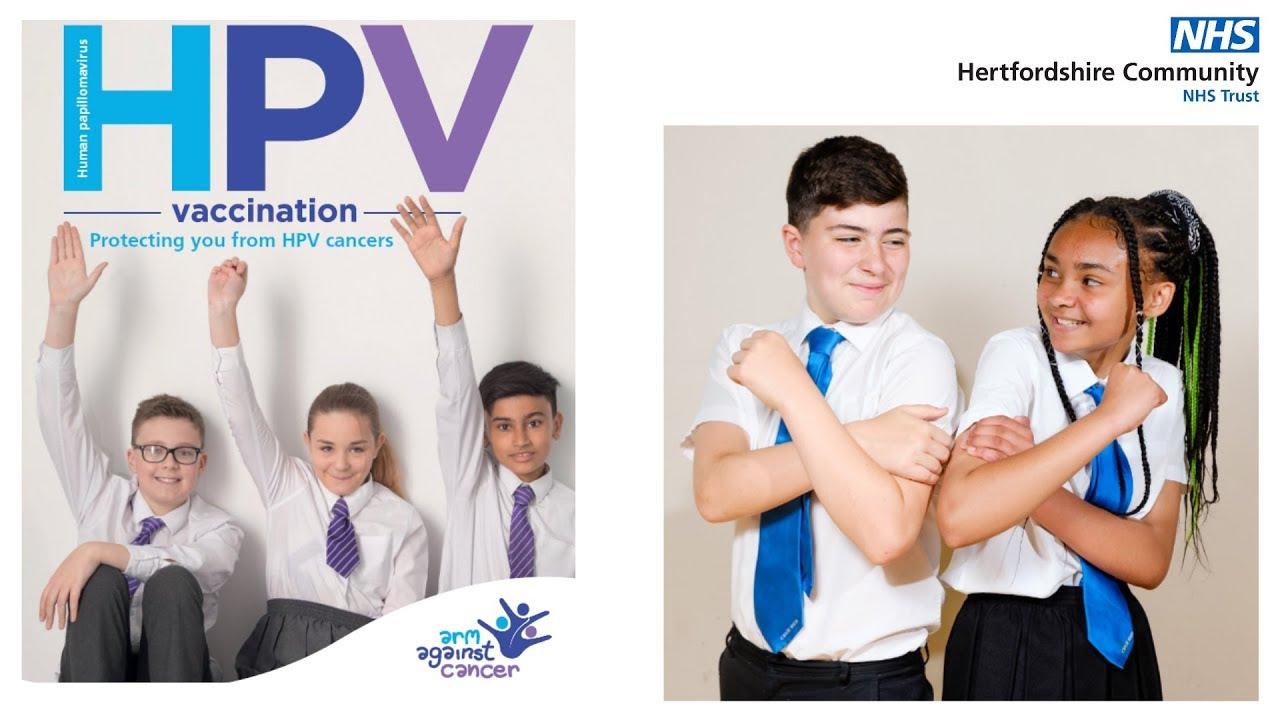 Hpv vaccine leaflet