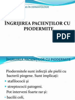 bacterii piogene