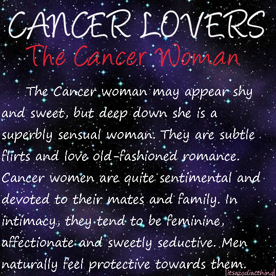 cancer woman feminine)