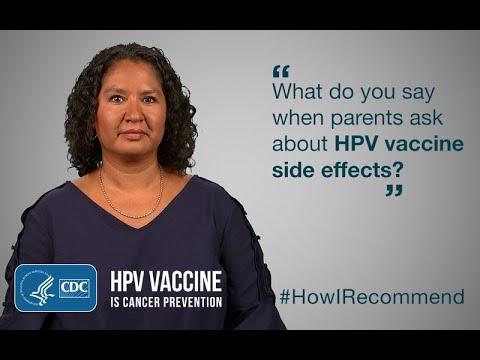 Side effects of papillomavirus vaccine, Infecții helmintice mixte