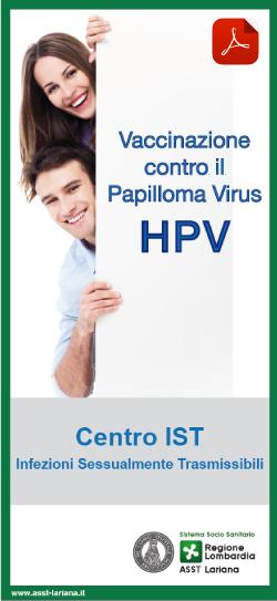 vaccino papilloma virus gratuito lombardia)